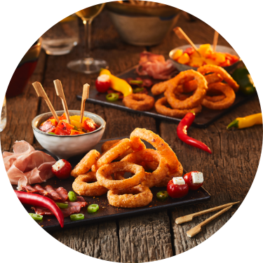 Onion Rings Pickers McCain Food Service