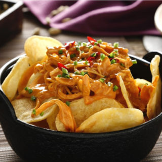 Maxi Chips et poulet au curry