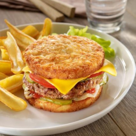 McCain FoodService France potato burger
