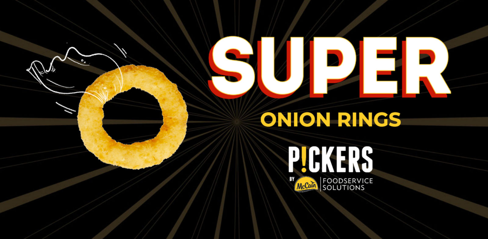 Campagne onion ring - McCain food Service