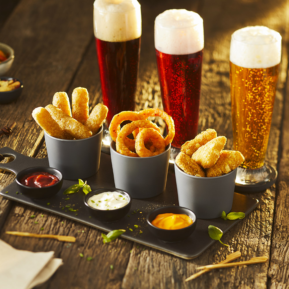 Snack onion rings - solution restaurateur